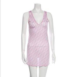 Christian Dior Shift Mini Dress